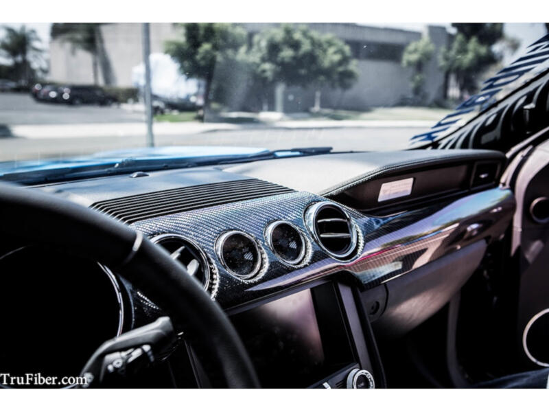 2015 Mustang TruFiber Carbon Fiber Dashboard Kit