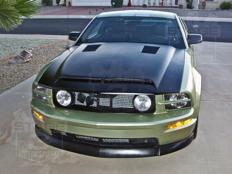 2005 2009 Mustang Trucarbon A Ram Air Hood