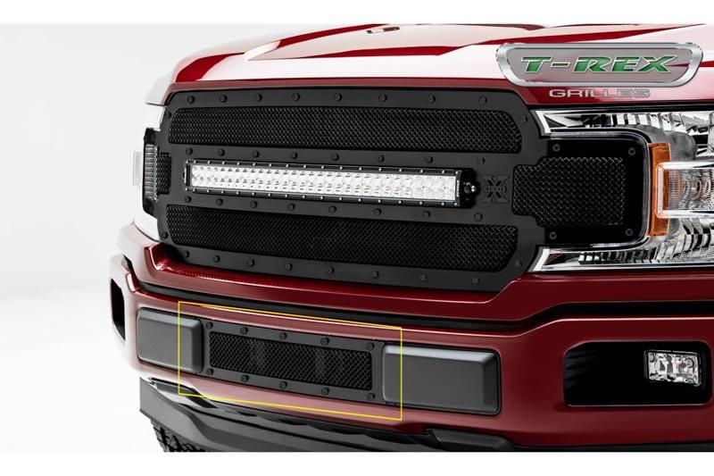 2018-2019 F150 T-Rex Formed X-Metal Studded Lower Bumper ...