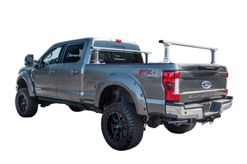 Thule Truck Bed Rack >> Thule 500xt Xsporter Pro Adjustable Bed Rack System 500xt