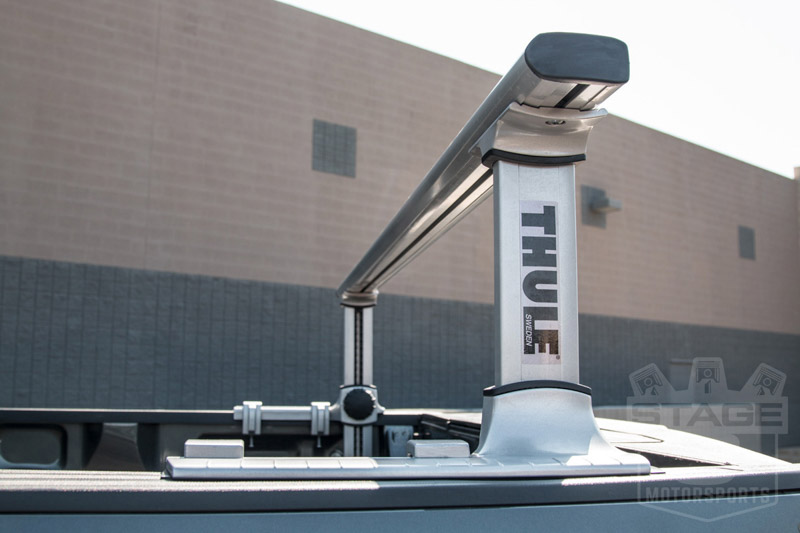 Ford F150 Tonneau Cover >> Thule 500XT Xsporter Pro Adjustable Bed Rack System 500XT