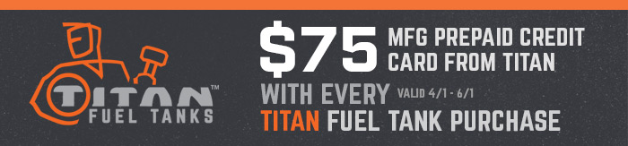 Tian Tanks Rebate
