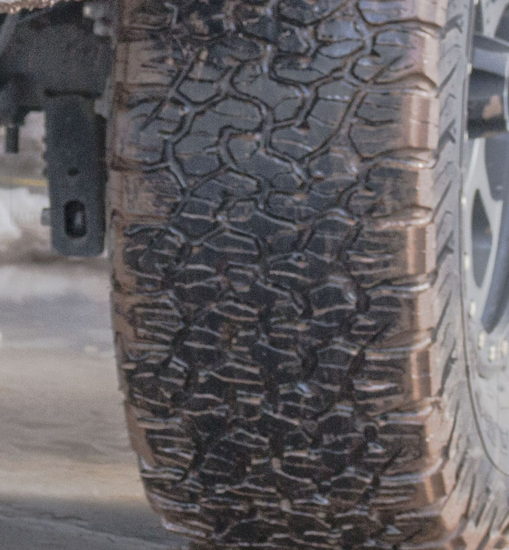 Toyo Tires White Letters >> P265/70R17 Toyo Open Country A/T II All-Terrain Tire ...