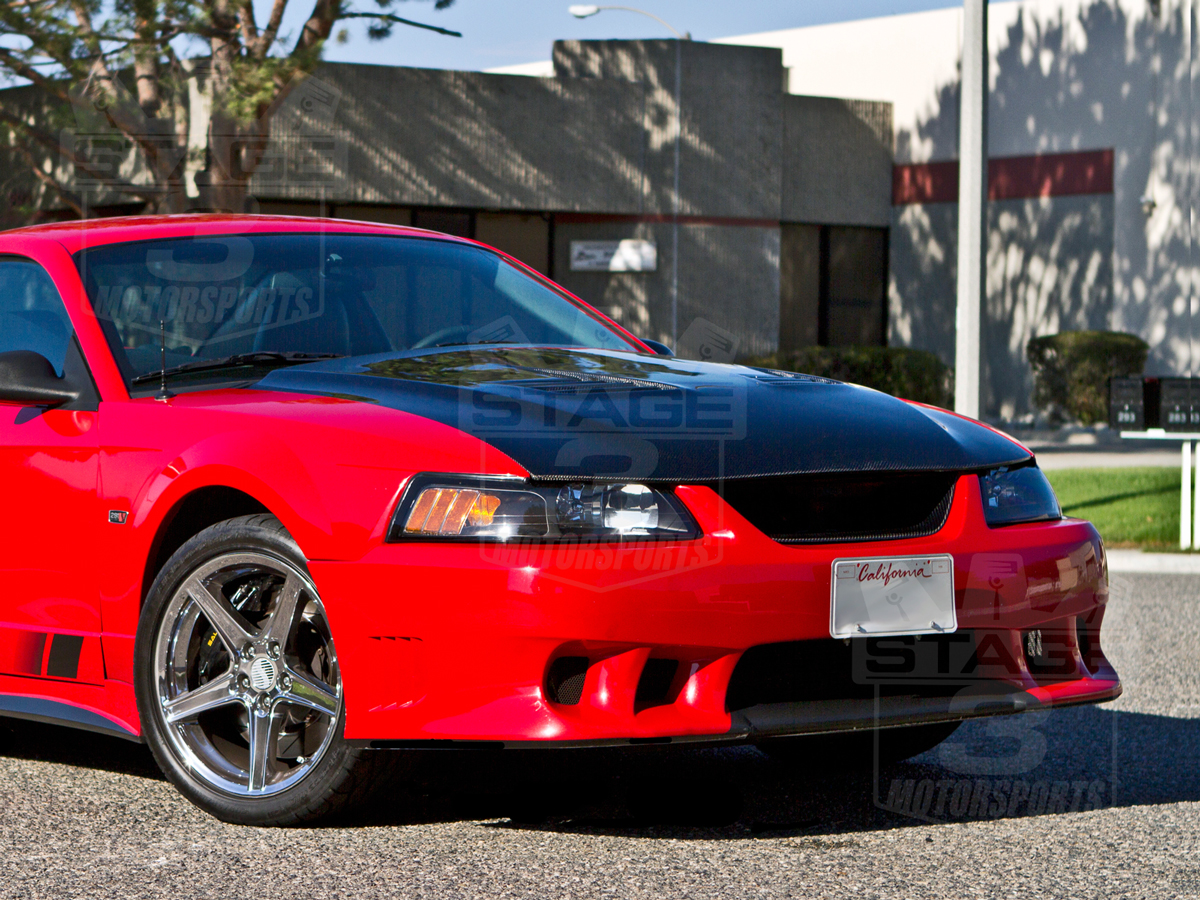1999-2004 Mustang TruCarbon A70 Saleen Extreme Style Hood ...