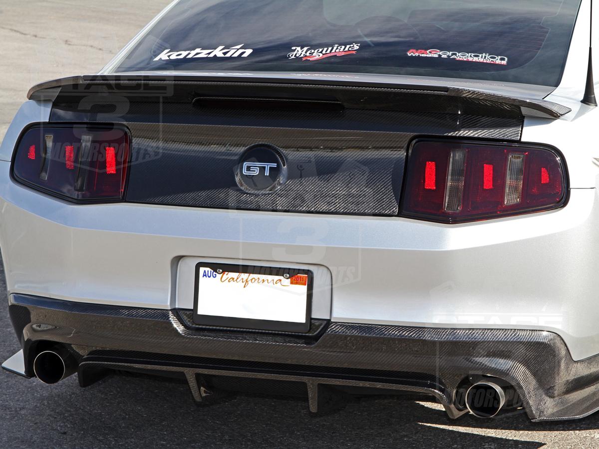 2010 2012 Mustang Trucarbon Rear Diffuser 10025 Lg58