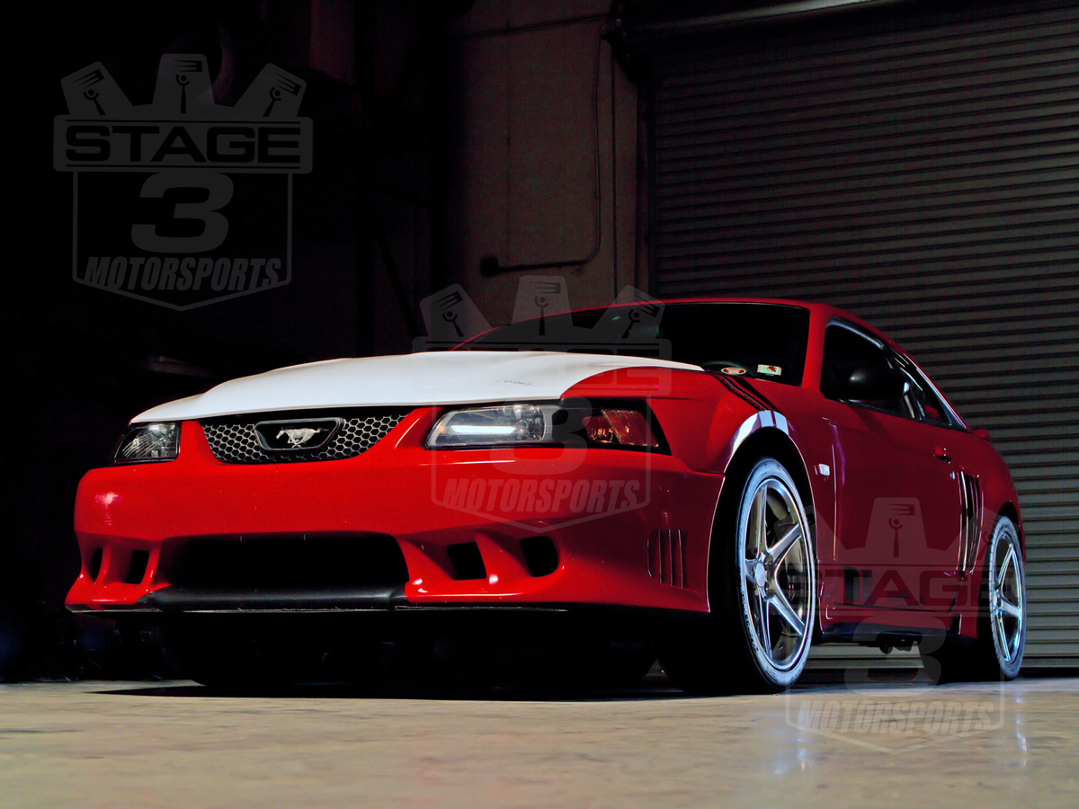 1999 2004 Mustang Trufiber A70 Saleen Extreme Style Hood