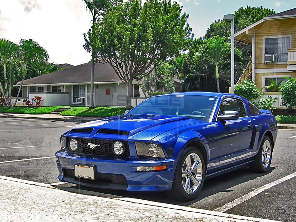 2005 2009 Mustang TruFiber A53 GTS 4 Venom Hood A53