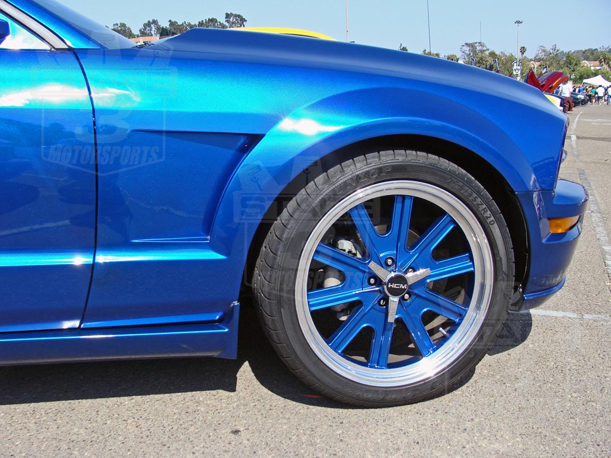 2005 2009 Mustang Trufiber T1 Vented Fenders 10024 Nx1