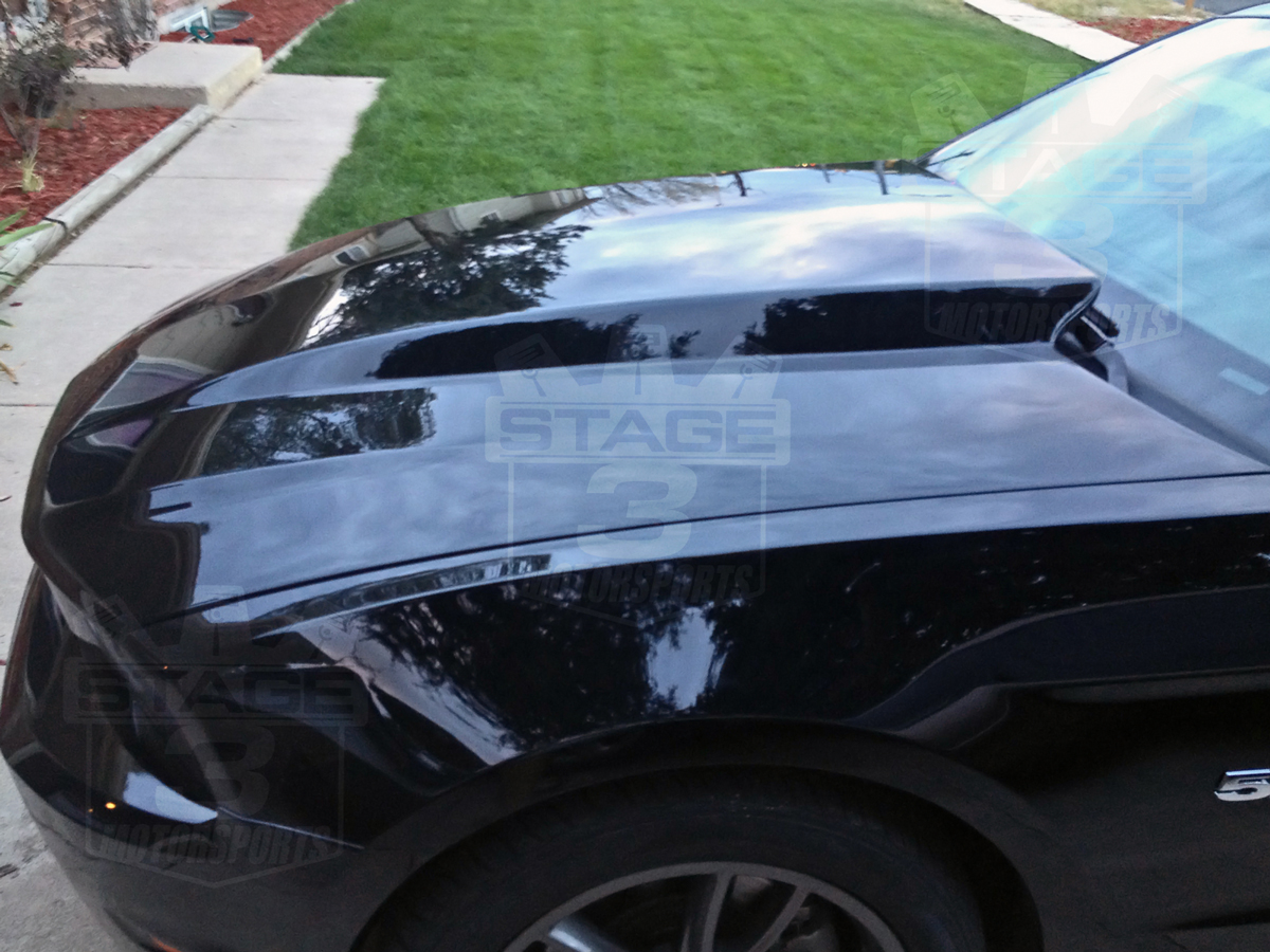 2010 2012 Mustang Trufiber A49 3 Quot Cowl Hood 10025 A49 3
