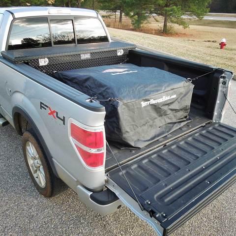 F150 & Super Duty Tuff Truck Bed Cargo Storage Bag - Black
