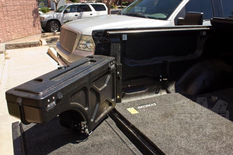 F150 Tool Box >> 1997-2014 F150 UnderCover Swing Case Storage Box (Driver) SC201D