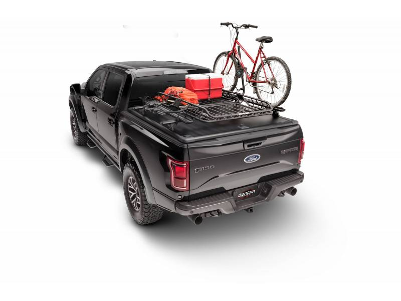 bed tonneau undercover hinged classic open cover ram black