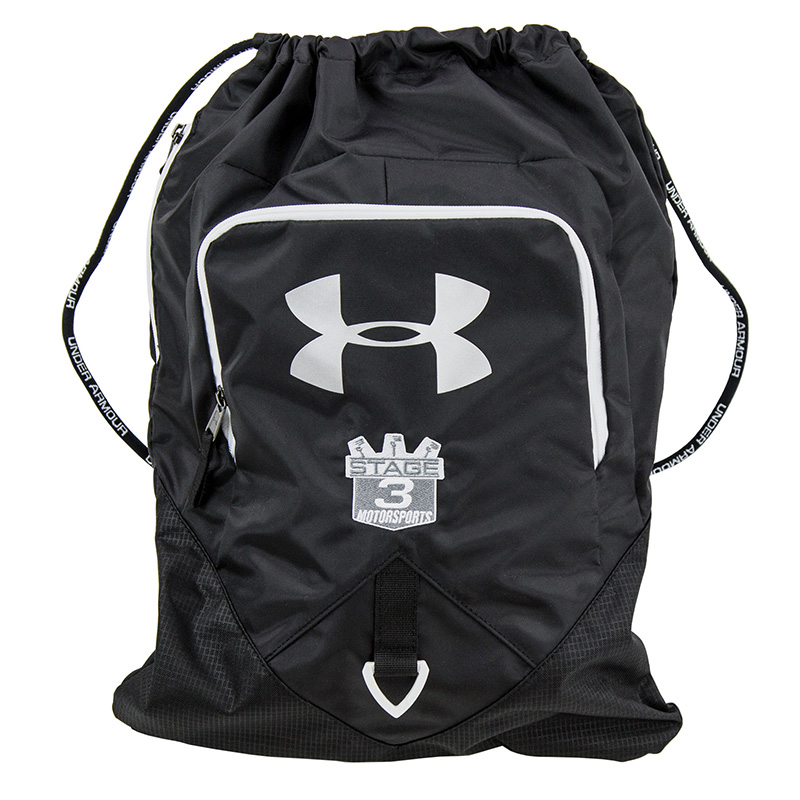 Under Armor SackPack Backpack with Stage 3 Shield Logo