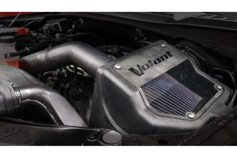 Volant Cold Air Intake >> 2015 2018 F150 5 0l V8 Volant Closed Box Cold Air Intake Kit