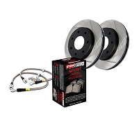 2010-2011 F150 StopTech Front Slotted Sport Axle-Pack Brake Kit