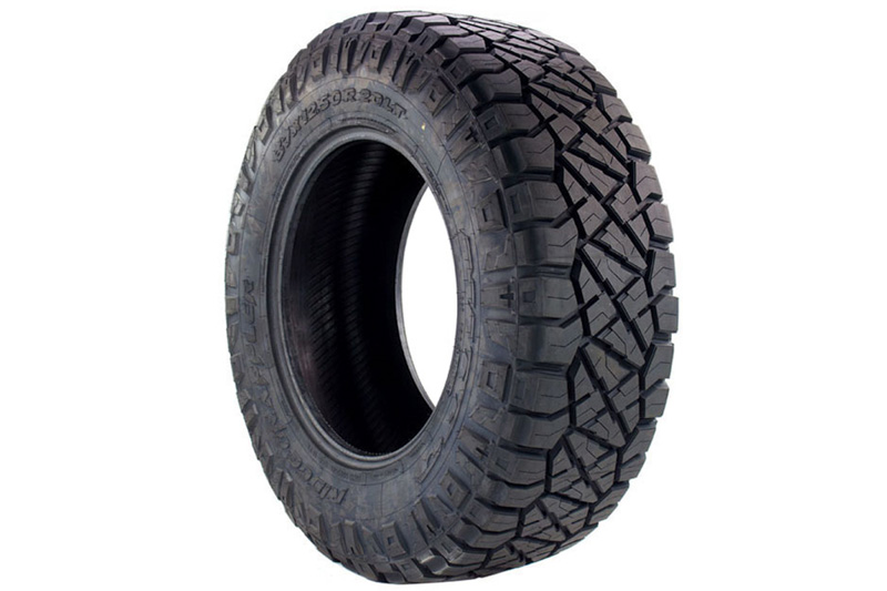 LT285/60R20 E Nitto Ridge Grappler M/T-A/T Hybrid Radial Tire