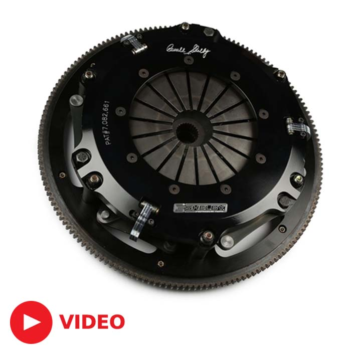 2007-2009 GT500 Shelby High-Performance Twin Disc Clutch ...