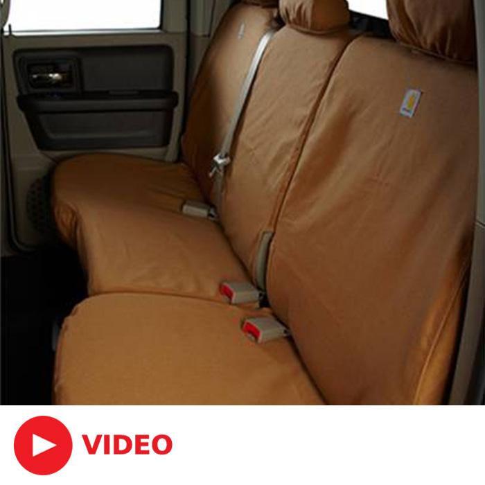2015 2019 F150 Covercraft Carhartt Custom Second Row Seat
