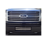 2011-2012 F150 Boost-Bars Platinum-Style Lower Two-Bar Lower Grille