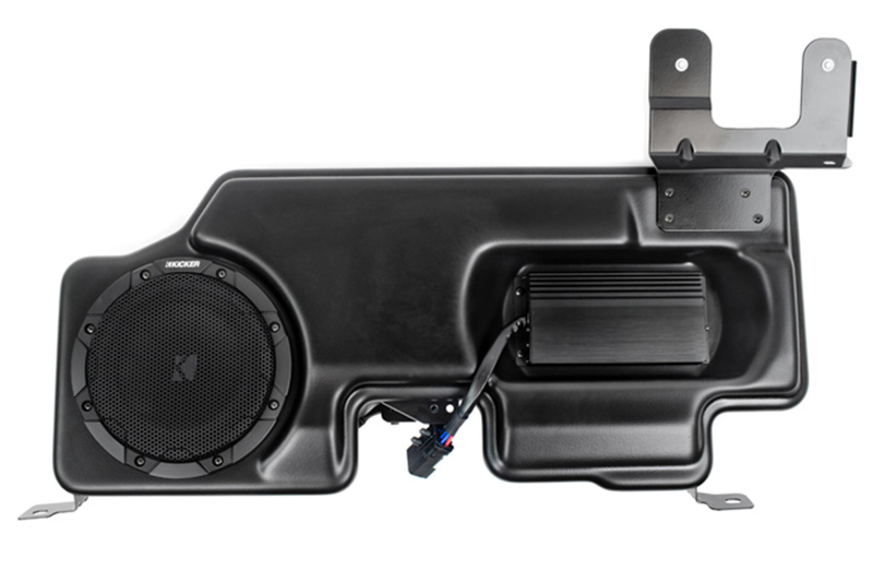 2015-2020 F150 & Super Duty Kicker VSS Substage Powered Subwoofer Kit on ford truck wiring harness, 13a576 ford harness, 2005 ford f350 trailer wiring, 2005 ford f-250 trailer brake wiring,