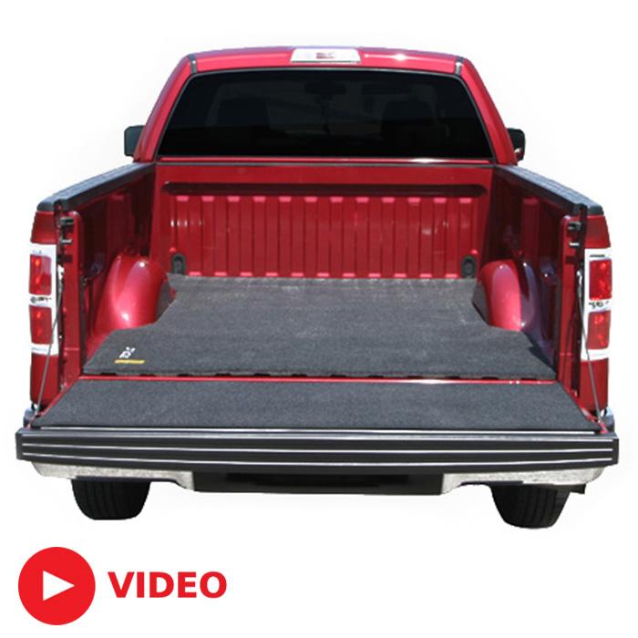2015 2018 f150 8ft bed bedrug mat for spray in bed liner bmq15lbs. Black Bedroom Furniture Sets. Home Design Ideas
