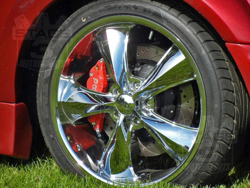 "Roush Mustang Price >> 2005-2014 Mustang GT Wilwood Superlite 6R/CPB 14""/13"" Brake Package 140-9110-10159"