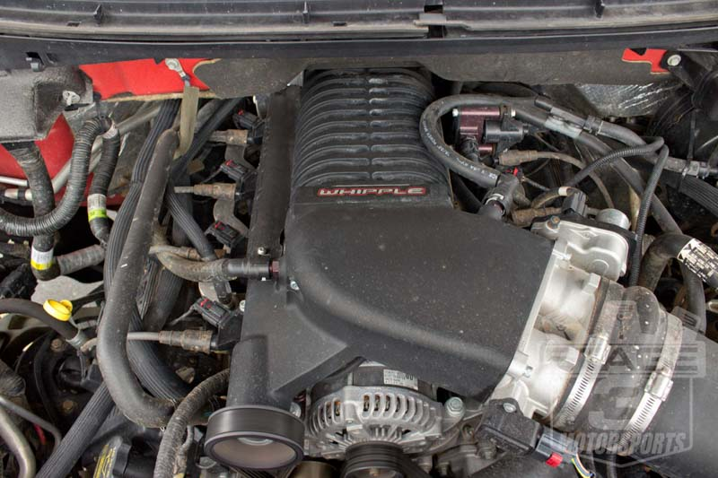 2011-2014 F150 6.2L Whipple 2.9L Supercharger Kit Installed