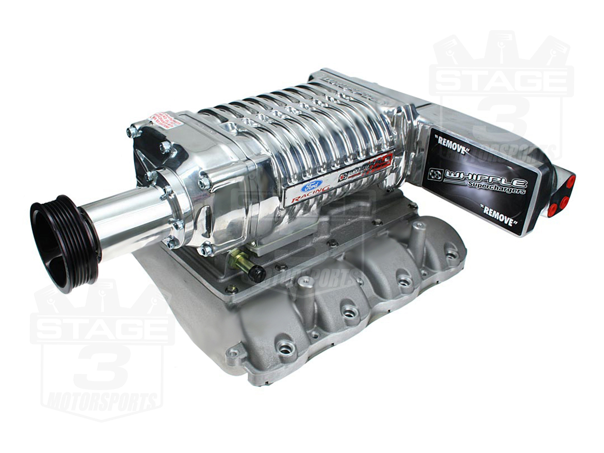 2010 Mustang Gt Price >> 2005-2010 Mustang GT Whipple W140AX 550hp Supercharger Kit (Polished) WK-2007