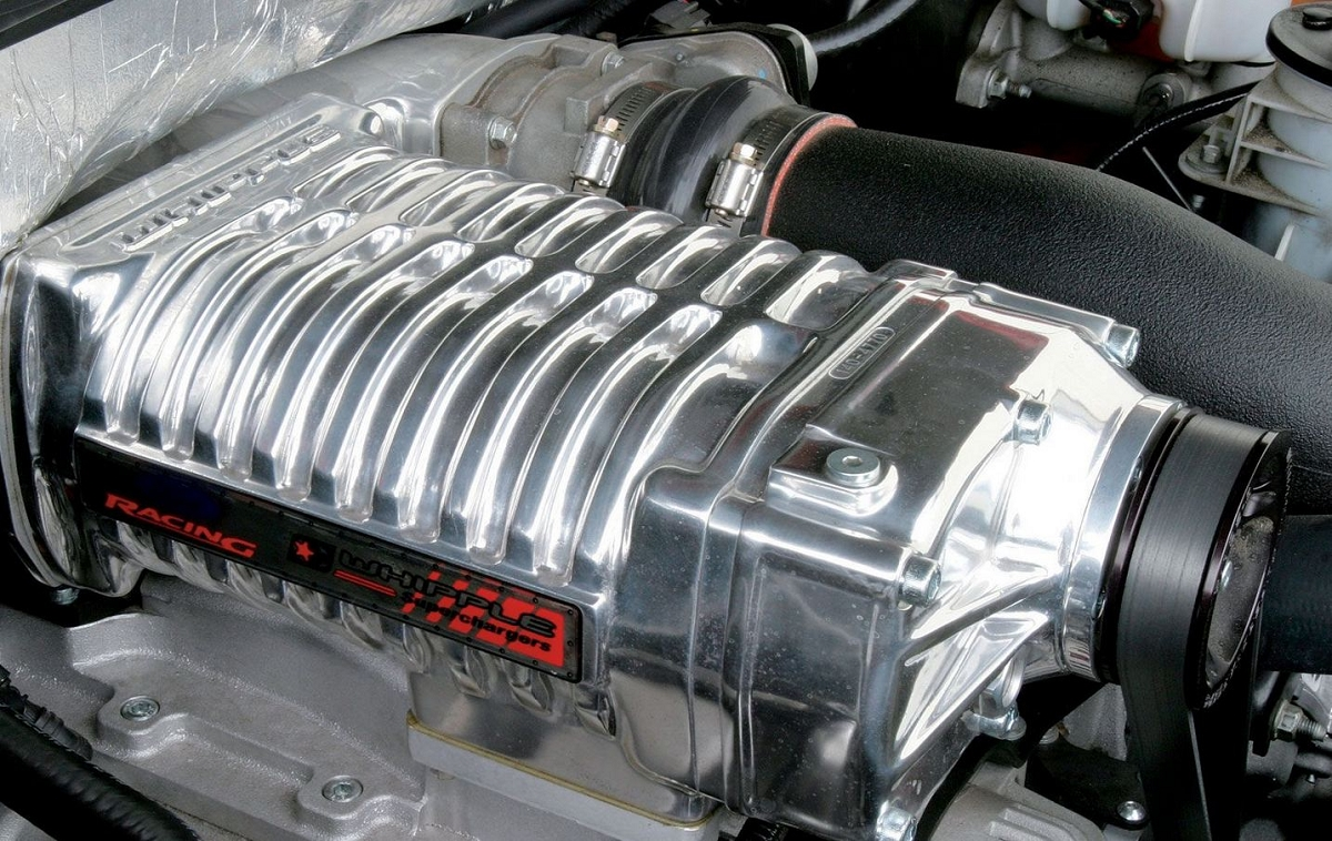 2007-2008 F150 / Mark LT 5.4L Whipple W140AX (2.3L ...