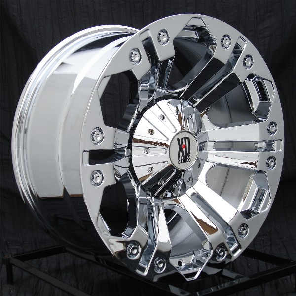 """2015 F150 Wheels >> 2004-2019 F150 XD 778 20x9"""" Chrome Monster Wheel (18mm Offset) XD77829067218"""