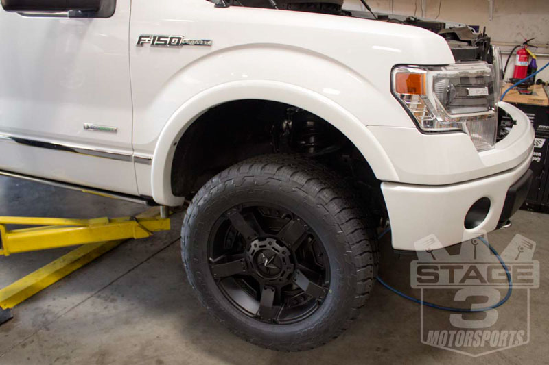 "20"" Rock Star IIs with 33"" Nitto Terra Grapplers on 2013 Platinum EcoBoost"