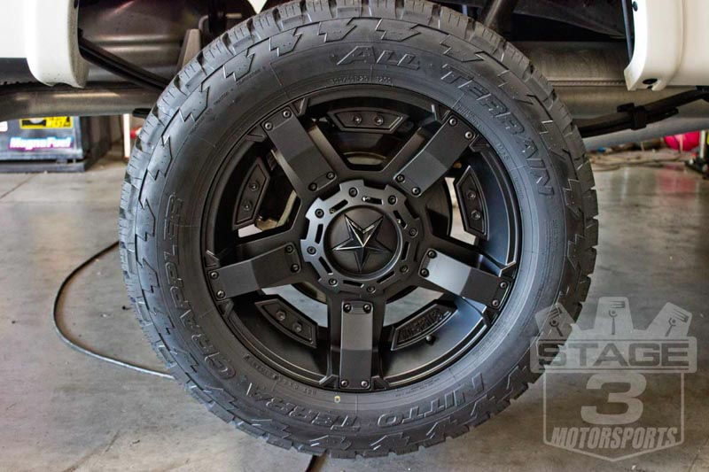 "2013 F150 EcoBoost Platinum with 20"" Rock Star IIs & 33"" Nitto Trail Grapplers"