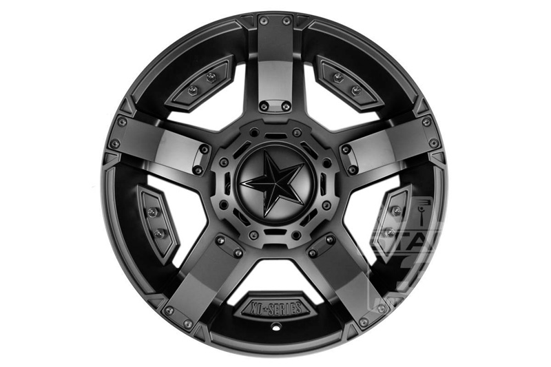 "2004-2018 F150 XD 20x9"" Matte Black Rock Star II Wheel ..."