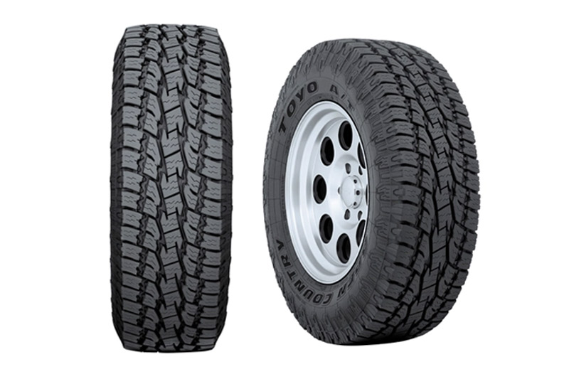 35x1250r17lt Toyo Open Country A T Ii All Terrain Tire Toy352810