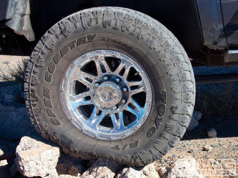 Silverado Vs F150 >> LT305/55R20 Toyo Open Country A/T II All-Terrain Tire 352740