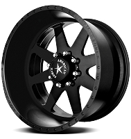 1999-2018 F250 & F350 American Force 22x11 Independence SS8 Wheel - Flat Black/Machined