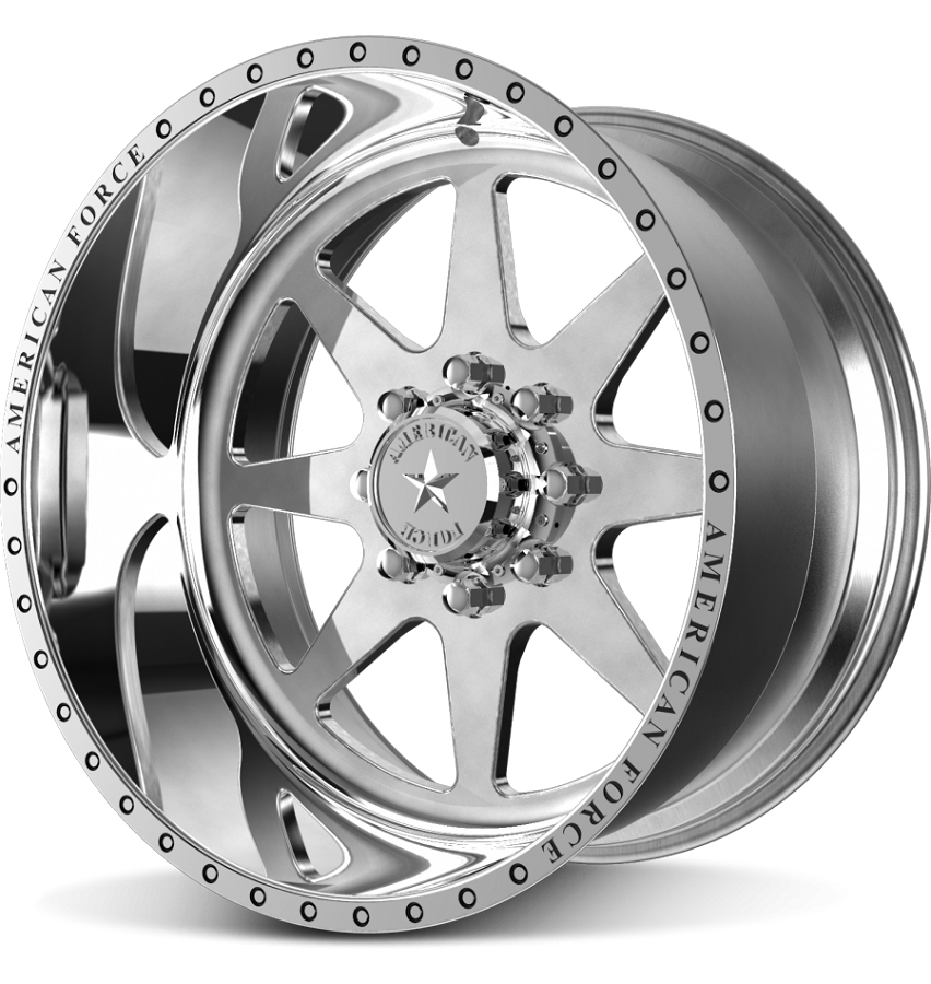 1999-2020 F250 & F350 American Force 22x11 Independence SS8 Wheel - Polished