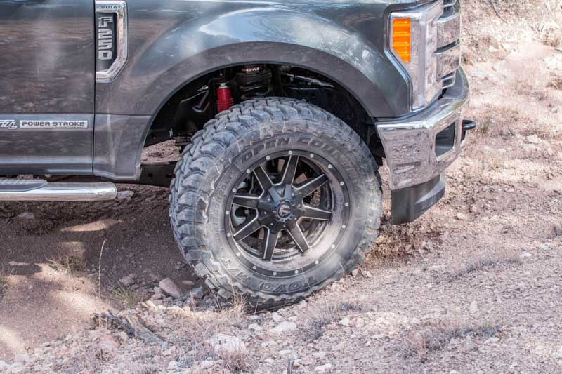 """Ford Focus Tires >> Stage 3's 2017 Project Truck with 20x10"""" Fuel Mavericks and 35"""" Toyo Open Country Tires!"""