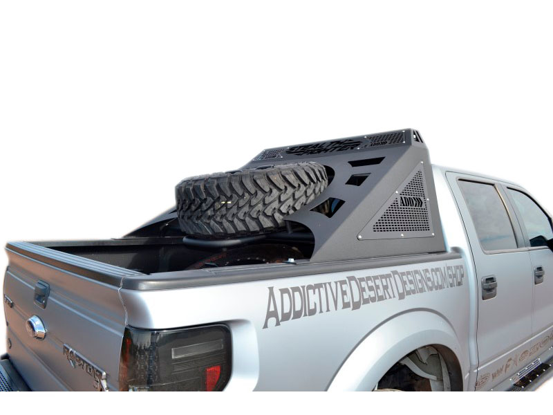 2004-2014 F150 & SVT Raptor ADD Stealth Fighter Chase Rack with Tire Carrier