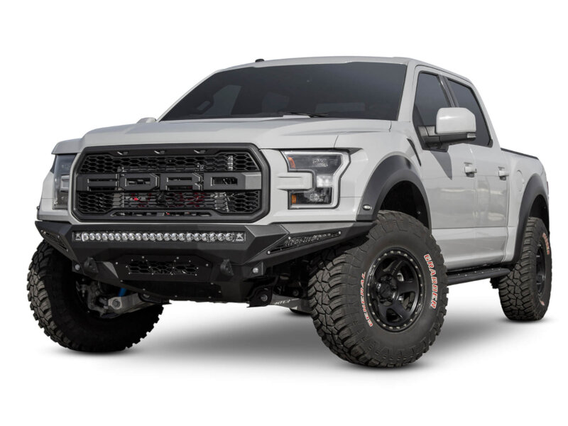 2017-2018 Raptor ADD Stealth Fighter Front Off-Road Bumper No Winch F111182860103