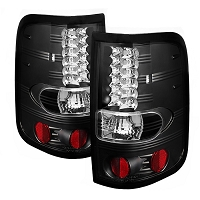 2004-2008 F150 Spyder LED Tail Lights (Black)