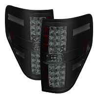 2009-2014 F150 & Raptor Spyder G2 LED Tail Lights (Smoked)