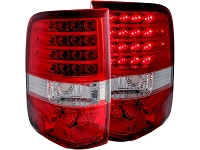 2004-2008 F150 ANZO LED Taillights (Red Lens)