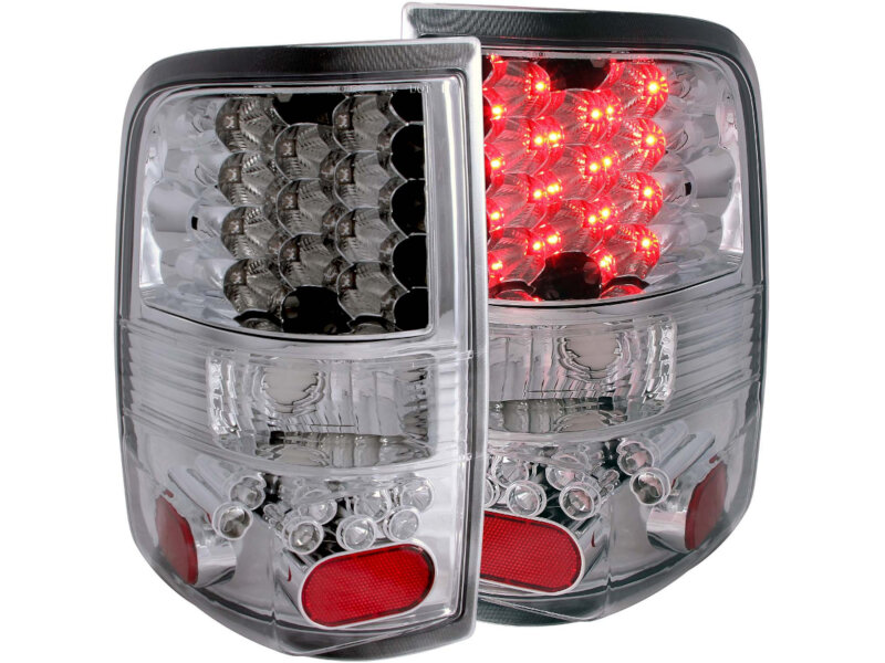 2004-2008 F150 ANZO LED Taillights (Chrome Housing)