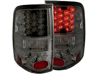 2004-2008 F150 ANZO LED Taillights (Smoked Lens)