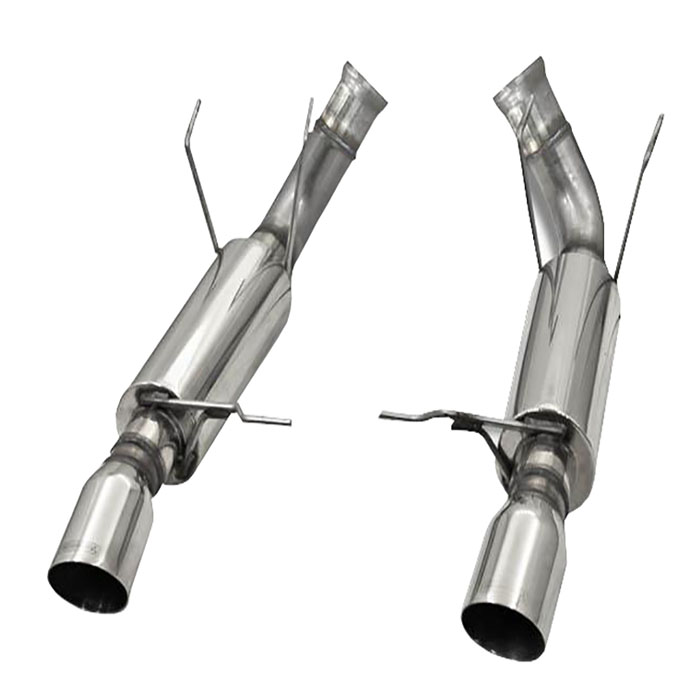 11-14 Mustang GT Bassani Axle-Back Exhaust Kit