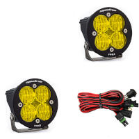 Baja Designs Squadron-R Pro Edition Wide Cornering LED Light - Amber (Pair)