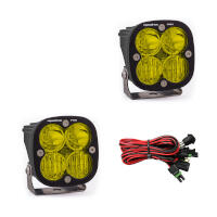 Baja Designs Squadron Pro Edition Driving/Combo LED Light - Amber (Pair)