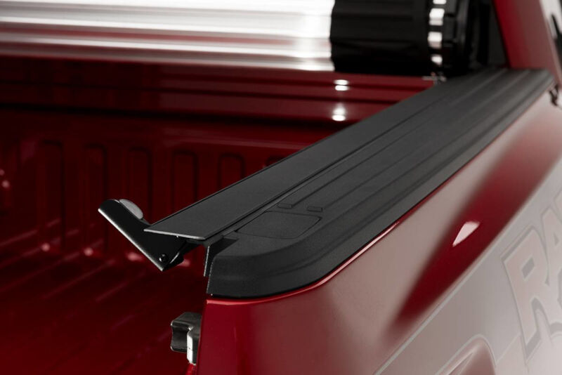 bak industries revolver  hard rolling tonneau cover long bed
