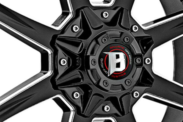 "2004-2019 F150 Ballistic 20x9"" Black Razorback Wheel ..."
